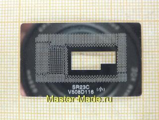 Шаблон BGA1234 Intel Core M3/M5 (SR23C)