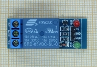 low level trigger, One Channel Relay Module